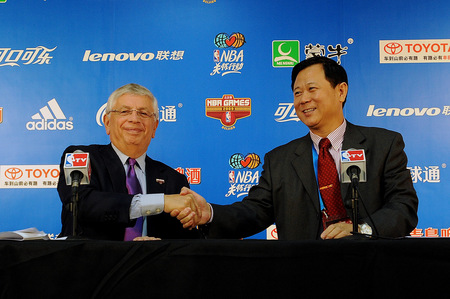 David Stern's Partnership With Asia Under Scrutiny