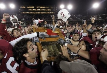 The Top Ten College Football Rivalry Trophies | Bleacher Report