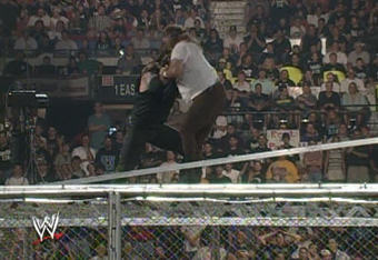 The Undertaker VS Mankind In Hell In a Cell: Setting a New WWE ...