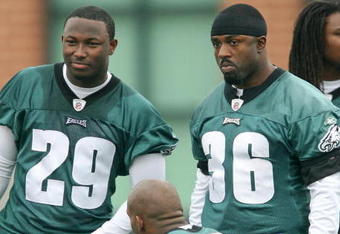 LeSean McCoy and Brian Westbrook
