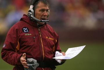 LANDOVER, MD - NOVEMBER 30:  Head coach Jim Zorn of the Washington Redskins walks on the sidelines during their game against the New York Giants at FedEx Field on November 30, 2008 in Landover, Maryland.  (Photo by Streeter Lecka/Getty Images)