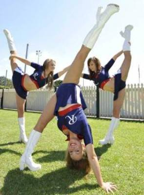 The Roosters Cheerleading Squad