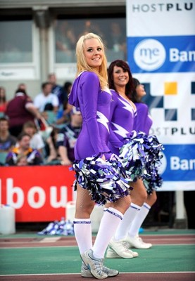 The Melbourne Storm Cheerleaders