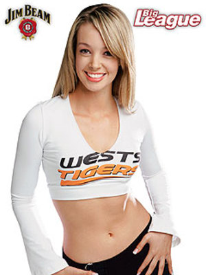 The Wests Tigers Cheerleaders
