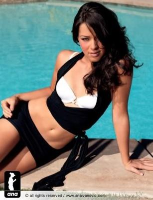 Hair: Ana Ivanovic